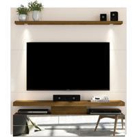 Home Suspenso Com Led Luce Para Tv De Até 60'' - Offwhite Com Demolição