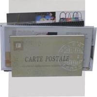 Porta-Correspondências Carte Postale 20X25 Branco Kapos