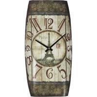 Relógio Kasa Ideia De Parede Paris