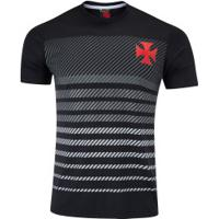 Camiseta Do Vasco Da Gama Graphic 19 - Masculina - Preto