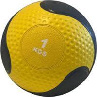 Medicine Ball 1Kg Crossfit Treino Funcional Wct Fitness - Unissex