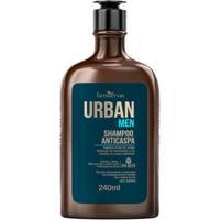Shampoo Urban Men Ipa - Anticaspa 240Ml - Unissex