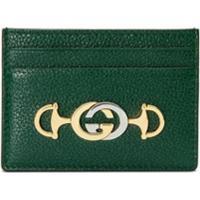 Gucci Porta-Cartões Gucci Zumi - Verde