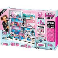 Casinha De Boneca Lol Surprise House Candide - Feminino-Rosa