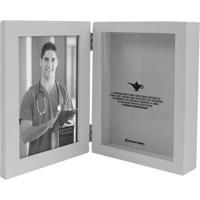 Cofre Porta Retrato Profissões Enfermagem Unica - Zona Criativa