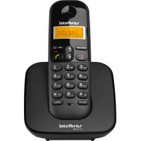Telefone Sem Fio Ts 3110, Display Luminoso Preto Intelbras