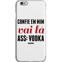 Capinha Confie Em Mim Vodka
