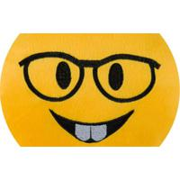 Almofada Capital Do Enxoval Emoji Nerd Estampado