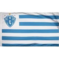 Bandeira Oficial Do Paysandu 128 X 90 Cm - 2 Panos - Unissex