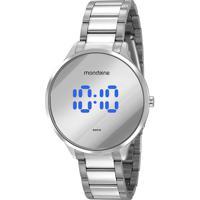 Relógio Digital Mondaine Feminino - 32060Lpmvde1 Prateado