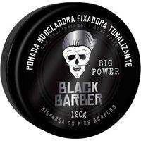 Pomada Modeladora Fixadora Tonalizante Black Barber Com 120G Muriel 120G