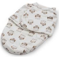Cueiro Enroladinho Para Bebê Corujinha Soft Loani - Kanui