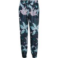 895acdc3cd4e2b Tory Burch Calça Com Estampa Floral - Azul