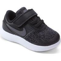 Tênis Infantil Nike Flex Contact Masculino - Masculino-Cinza+Preto