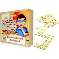 Dominó Educativo Adaptado Braile - Fundamental