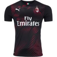 Camisa Milan Iii 19/20 Puma - Masculina - Preto