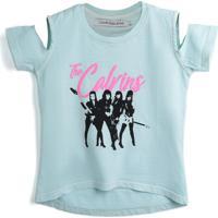 Blusa Calvin Klein Kids Menina Banda De Rock Azul