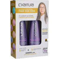Kit Silver C Kamura Shampoo E Condicionador Único