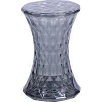 Banqueta Diamond- Fumãª- 46,5Xã˜31Cm- Or Designor Design