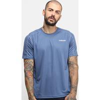 Camiseta Adidas D2M Masculina - Masculino-Marinho