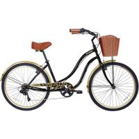 Bicicleta Gama Cruiser Woman Aro 26 Animal Print - Unissex