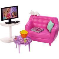 Barbie Móveis Básicos Sala De Estar - Mattel - Tricae