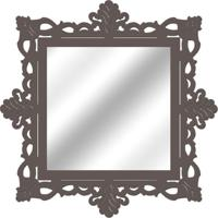Espelho De Parede 14849V Cinza 70X70 Art Shop