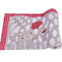 Cobertor Rolo Bordado 0.90X1,10M Alvinha Ref.5947 / 5946 / 5948 - Minasrey-Cinza