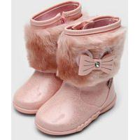 Bota Kidy Infantil Soft Rosa