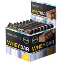 Barra De Proteína Probiótica Whey Bar - Banana - 24 Unidades