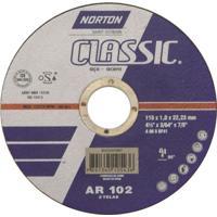 """Disco Corte Inox Norton Classic 4.1/2"""" - 1 Mm"""