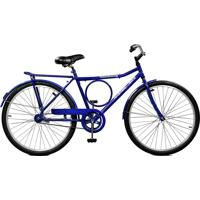 Bicicleta Master Bike Aro 26 Masculina Super Barra Manual Azul