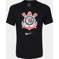 Camiseta Corinthians Evergre Nike Masculina - Masculino