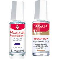 Kit Mavala Base Unhas Protective 002 + Finalizador De Esmalte Gel Finish Top Coat 10 Ml - Feminino-Incolor