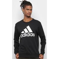 Blusa Adidas Mh Bos Creft Masculina - Masculino-Preto+Branco