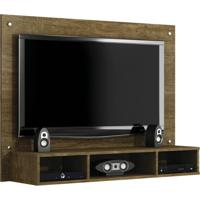 Painel Para Tv 46 Polegadas Atena Ipê 120 Cm