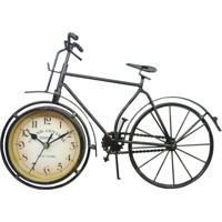 Relógio Kasa Ideia Bicicleta De Mesa 38X58Cm