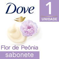 Sabonete Em Barra Dove Delicious Care Flor De Peônia Com 90G