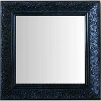 Espelho Moldura Rococó Raso 16143 Preto Art Shop