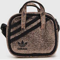 Bolsa Adidas Originals Logo Dourada