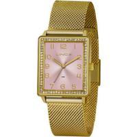 Relógio Lince Urban Lqg4665Lr2Kx Feminino - Feminino-Dourado