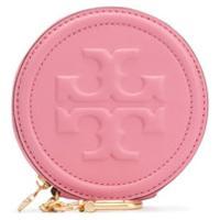 Tory Burch Carteira Com Logo Gravado - Rosa