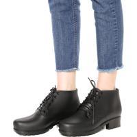 Bota Dafiti Shoes Tratorada Preta
