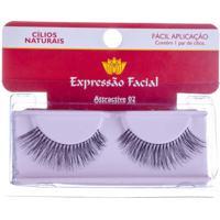 Cílios Naturais Expressão Facial Attractive Nº02