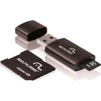 Pen Drive Multilaser 32Gb 3 Em 1 Com Cartã£O De Memã³Ria E Adaptador Mc113