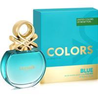 Perfume Feminino Colors Blue Benetton Eau De Toilette 80Ml - Feminino