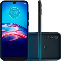 Smartphone Motorola Moto E6S 32Gb 2Gb Ram Nacional Azul Navy
