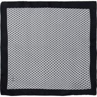 Lenço Masculino Pocketsquare - Off White