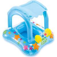 Boia Baby Bote Kiddie Com Cobertura Azul 56581 Intex