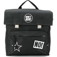 Nununu Mochila 'Super Patch' - Preto